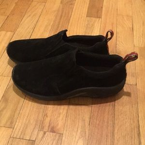 Merrell Shoes - Merrell MOC Aircusion Ortholite Black leather shoe